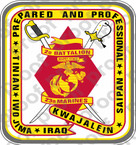 STICKER USMC UNIT   2ND BATTALION 23RD MARINE REGIMENT v2   ooo   LISC#20187