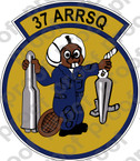 STICKER USAF 37TH ARRSQ