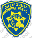 STICKER CIVIL California Highway Patrol SHIELD B