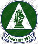 STICKER USN VP 703 FIGHTING