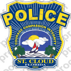 STICKER CIVIL ST CLOUD FL POLICE