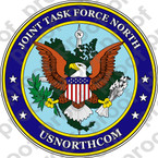 STICKER MILITARY JOINT TASK FORCE NORTH