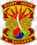 STICKER US Army 3rd Transportation Command
