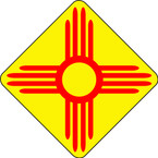 STICKER NEW MEXICO SUN B