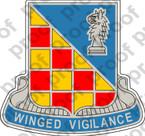 STICKER U.S. Army 3rd Military Intelligence Battalion DUI