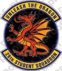 STICKER USAF 29TH STUDENT SQUADRON