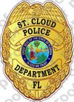 STICKER CIVIL ST CLOUD FL POLICE B
