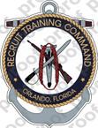 STICKER USN RTC RECRUIT TRAINING COMMAND