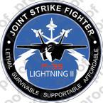 STICKER USAF VET F 35 JOINT STRIKE FIGHTER B