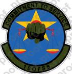 STICKER USAF 1ST SOFSS