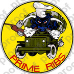 STICKER USAF PRIME RIBS