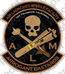 STICKER USMC ALMF ARROGANT BASTARDS    ooo    USMC Lisc No 20187