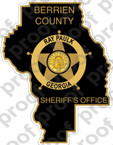 STICKER CIVIL BERRIEN COUNTY SHERIFF SSI PAULK