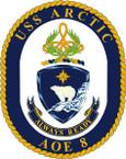 USN AOE 8 USS BRIDGE STICKER