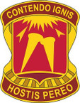 STICKERS US ARMY UNIT 357th Air Defense Artillery Brigade