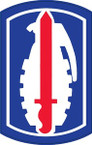 STICKERS US ARMY UNIT 191st INFANTRY BRIGADE