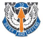 STICKERS US ARMY UNIT 166th Aviation Brigade