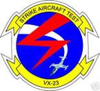 STICKER USN VX 23 TEST SQUADRON