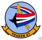 STICKER USN VT  27 Training Squadron