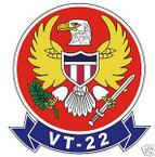 STICKER USN VT  22 Training Squadron