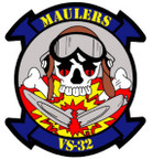 STICKER USN VS 32 AIR ANTI-SUB SQUADRON