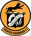 STICKER USN VF 21 FIGHTER SQUADRON FREELANCERS