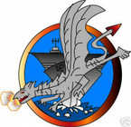 STICKER USN VF 192 FIGHTER SQUADRON GOLDEN DRAGONS