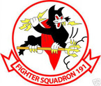 STICKER USN VF 191 FIGHTER SQUADRON FIGHTER