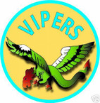 STICKER USN VF  80 FIGHTER SQUADRON VIPERS