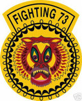 STICKER USN VF  73 FIGHTER SQUADRON