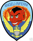 STICKER USN VF  54 FIGHTER SQUADRON ANGELI INFERNI