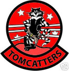 STICKER USN VF  31 FIGHTER SQUAD TOMCATTERS