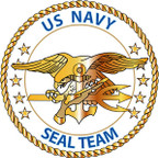 STICKER USN VET US Navy Seal Team