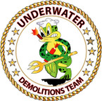 STICKER USN VET Underwater Demolitions Team
