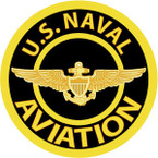 STICKER USN VET U.S. UNITED STATES NAVAL AVATION