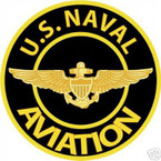 STICKER USN VET U.S.  UNITED STATES NAVAL AVIATION