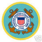 STICKER USN VET NAVY COAST GUARD SHIELD