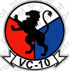 STICKER USN VC 10 CHALLENGERS