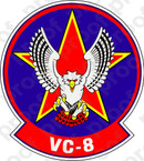 STICKER USN VC 8 Fleet Composite SQUADRON
