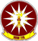 STICKER USN VAW 116 Early Warning Squadron