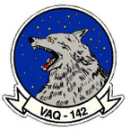 STICKER USN VAQ 142 ATTACK SQUADRON