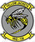 STICKER USN VAQ 138 ATTACK SQUADRON