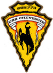 STICKER USN US NAVY SSN 773 CHEYENNE SUBMARINE