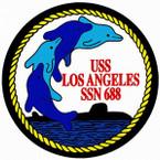 STICKER USN US NAVY SSN 688 LOS ANGELES SUBMARINE