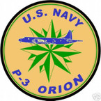STICKER USN US NAVY P-3 ORION ANTI SUBMARINE WARFARE