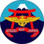 STICKER USN US NAVY NAF Atsugi Japan