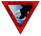STICKER USN US NAVY HSM WEAPONS SCHOOL
