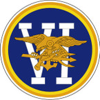 STICKER USN UNIT NAVY SEAL TEAM 6 B