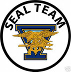 STICKER USN UNIT NAVY SEAL TEAM  5