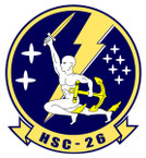 STICKER USN HSC 26 SEA COMBAT SQUADRON B